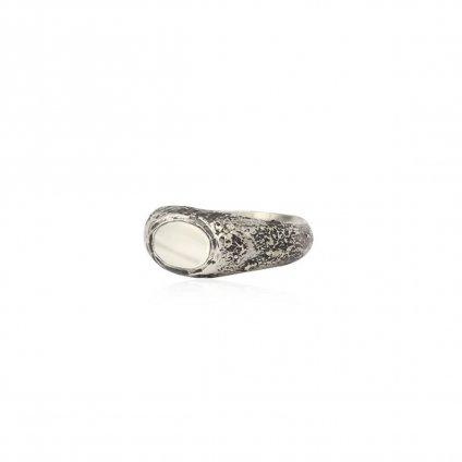 momocreatura Mother of Pearl Signet Ring Small(モモクリアチュラ マザーオブパール シグネットリング スモール)