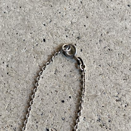 1940~50's Stone Silver Necklace(1940〜50年代 天然石 シルバー ネックレス)