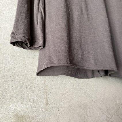 suzuki takayuki turtle-neck t-shirt (スズキタカユキ タートルネック Tシャツ)Grey