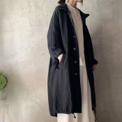 <img class='new_mark_img1' src='https://img.shop-pro.jp/img/new/icons13.gif' style='border:none;display:inline;margin:0px;padding:0px;width:auto;' />suzuki takayuki military coat(スズキタカユキ ミリタリーコート)Black/Unisex