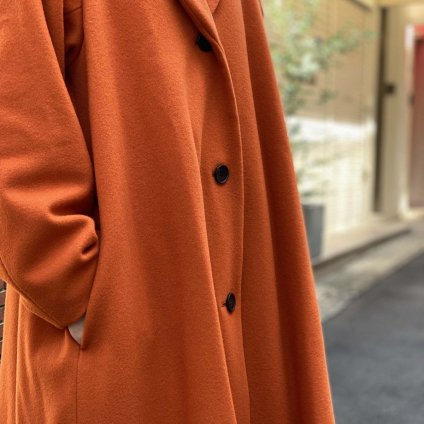 ikkuna/suzuki takayuki shawl collar coat(イクナスズキタカユキ ショールカラーコート)Autumn Leaf