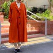 <img class='new_mark_img1' src='https://img.shop-pro.jp/img/new/icons13.gif' style='border:none;display:inline;margin:0px;padding:0px;width:auto;' />ikkuna/suzuki takayuki shawl collar coat(イクナスズキタカユキ ショールカラーコート)Autumn Leaf
