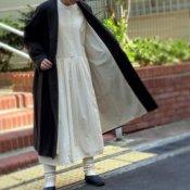 <img class='new_mark_img1' src='https://img.shop-pro.jp/img/new/icons13.gif' style='border:none;display:inline;margin:0px;padding:0px;width:auto;' />ikkuna/suzuki takayuki shawl collar coat(イクナスズキタカユキ ショールカラーコート)Charcoal Gray