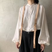 <img class='new_mark_img1' src='https://img.shop-pro.jp/img/new/icons13.gif' style='border:none;display:inline;margin:0px;padding:0px;width:auto;' />suzuki takayuki balloon-sleeve blouse(スズキタカユキ バルーンスリーブブラウス)Nude
