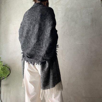 suzuki takayuki shawl(スズキタカユキ ショール)Black