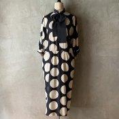 Vintage  Polka Dot Dress(ヴィンテージ ポルカドット ワンピース)