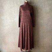 Vintage Flower Pattern Dress(ヴィンテージ 花柄 ワンピース)