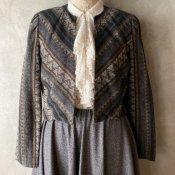Vintage Woven Jacket(ヴィンテージ 幾何学パターン ジャケット)