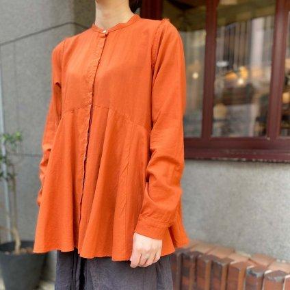 ikkuna/suzuki takayuki flared blouse(スズキタカユキ フレアードブラウス)Autumn Leaf