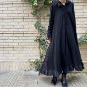 HALLELUJAH 4, Robe Medievale a Capuche(中世のフードドレス) Black