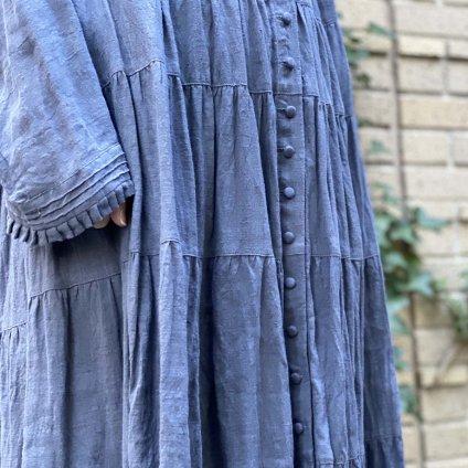 HALLELUJAH 2, Robe Etaee(ハレルヤ ティアードローブ)Gray Blue