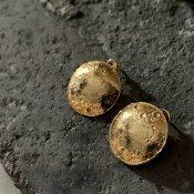 【期間限定販売】momocreatura Large Moon Disc Earrings(ラージムーン ピアス ゴールド)