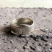 【期間限定販売】momocreatura Moon Crater Ring 6mm(クレーターリング シルバー 6mm)