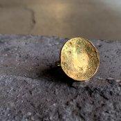 【期間限定販売】momocreatura Large Moon Disc Ring (ラージムーンリング ゴールド)