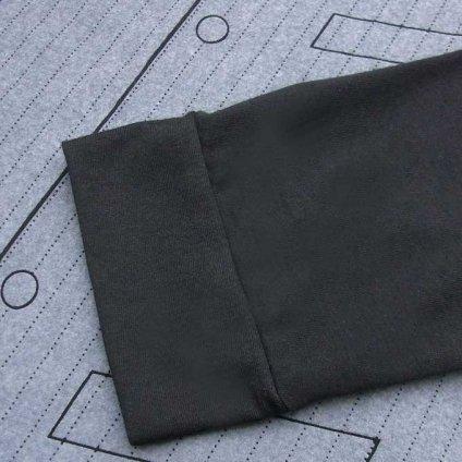 Trompe-l'oeil Gilet T-shirt / Black (だまし絵 / トロンプルイユ ジレ Tシャツ)