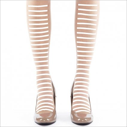 <img class='new_mark_img1' src='https://img.shop-pro.jp/img/new/icons20.gif' style='border:none;display:inline;margin:0px;padding:0px;width:auto;' />【半額】proef  Stockings Stripe