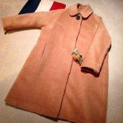 50's Style 2way Coat / Alpaca Brown (アルパカ混 ウールコート)