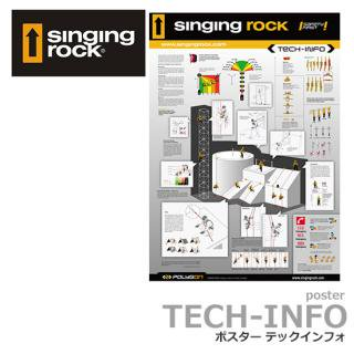 Singing rock TECH-INFO ポスター
