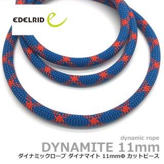 エーデルリット ダイナマイト 11mm  1.8m カットピース (デバイスランヤード・カウズテール用 ダイナミックロープ)