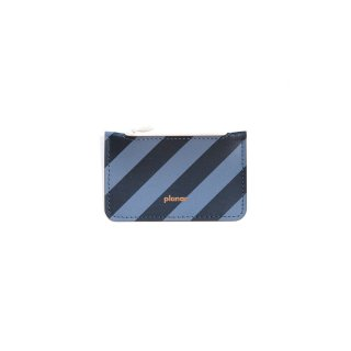 コインケース -Stripes Grey & Black-