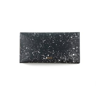 Wallet L -Cosmos black & white-