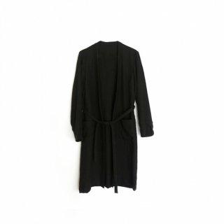 jiji /ノーカラーの羽織 / black