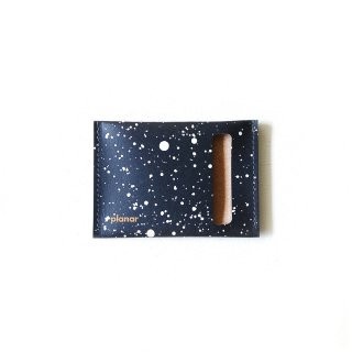 Wallet S -Black & White Cosmos-