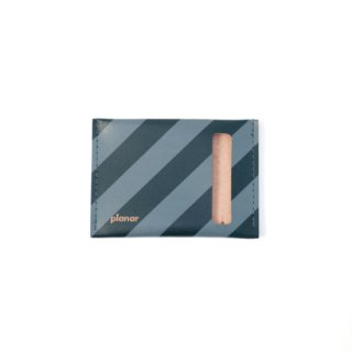 Wallet S -Grey and Black Stripes-