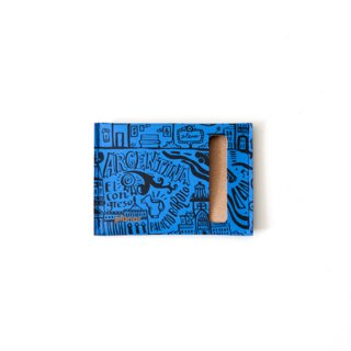 Wallet S -Blue Buenos Aires-