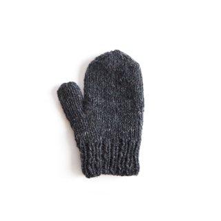 フェアトレード/手袋 ミトンタイプ / チャコール
