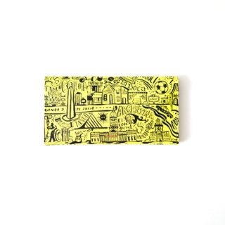 Wallet L -Yellow Buenos Aires-