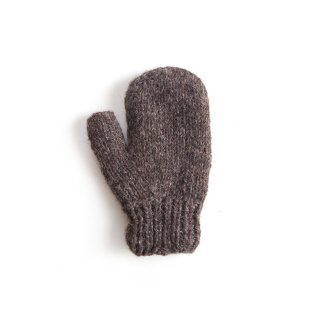 フェアトレード/手袋 ミトンタイプ / ブラウン