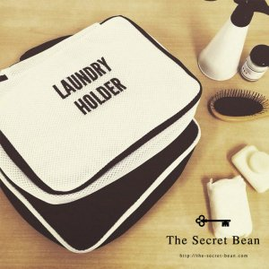 【CASA & CASA】【ゆうパケ】2color◆LAUNDRY CASE BOX