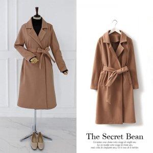 【新春特別価格】ウール混大人の厚手コート