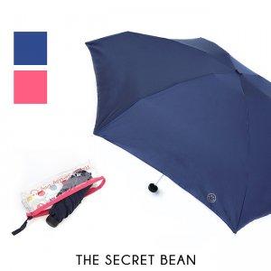 【CASA & CASA】2color◆スマイル刺繍入り折りたたみ傘