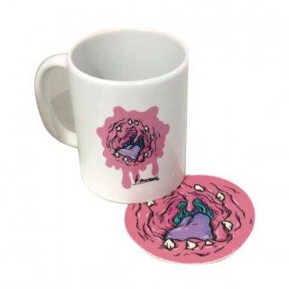 PINKMOUSEマグカップ(コースター付)