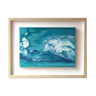 Laminar Flow of Blue