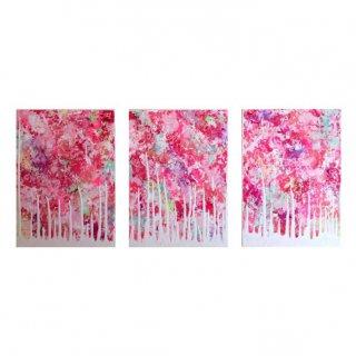 raved flowers(3枚組)【セミオーダー可能】