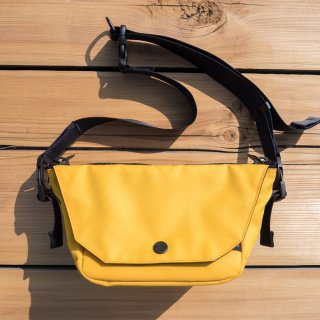 ONE SHOULDER mini Yellow
