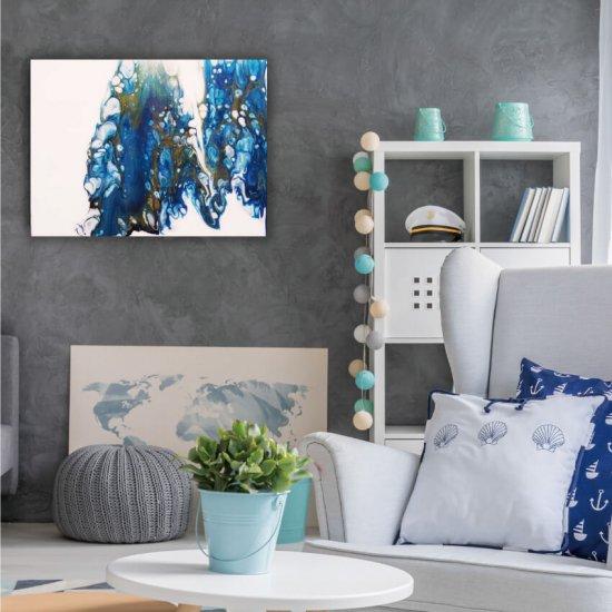 ブルー,アート,絵,青