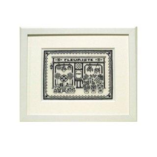 【刺繍】Passage花屋