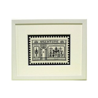 【刺繍】Passage銀製品店