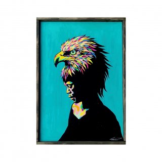 Atomic head -eagle