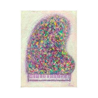 pastel rose piano