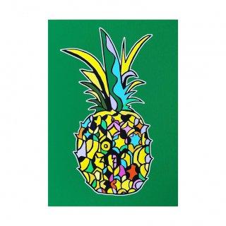 不思議なパイナップル (A3)
