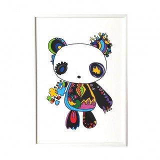 パンダのぬいぐるみ / セミオーダー (A3)