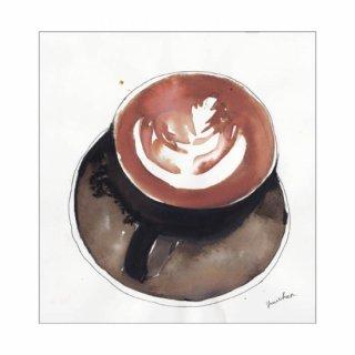 「cafe latte hot」