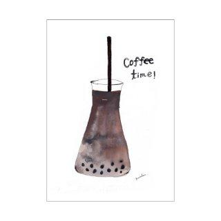 「カフェオレ(タピオカ入り)」