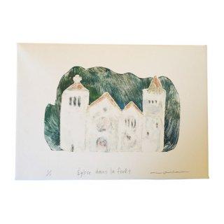 Eglise  dans la foret(森の中の教会)