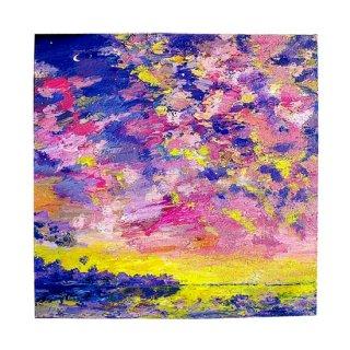 原画 空と海の絵